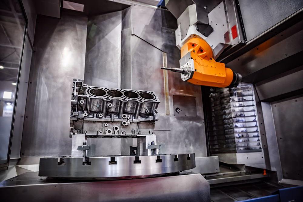 macchina a CNC